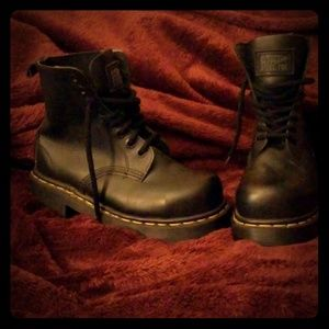 Dr. Martin's Steel Toe Boots